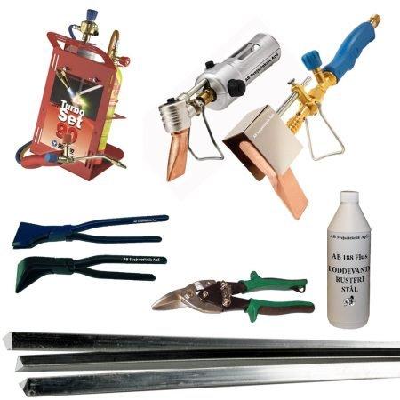 Blikkenslager værktøj og produkter.