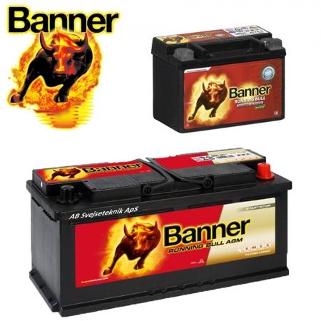 Banner Batterier