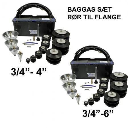 Baggas udstyr til svejsning
