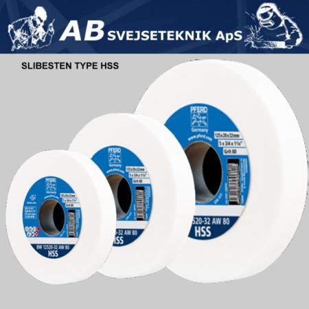 Slibesten HSS bænksliber Ø 125-300 mm