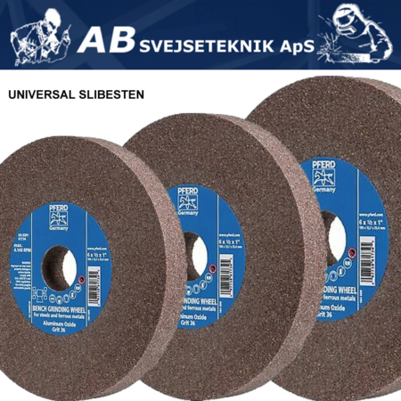 Slibesten Universal Bænksliber Ø 125 -300 mm
