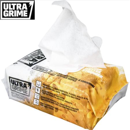 Ultra Grime Anti- Bac Uniwipes Covid 19 Vådservietter