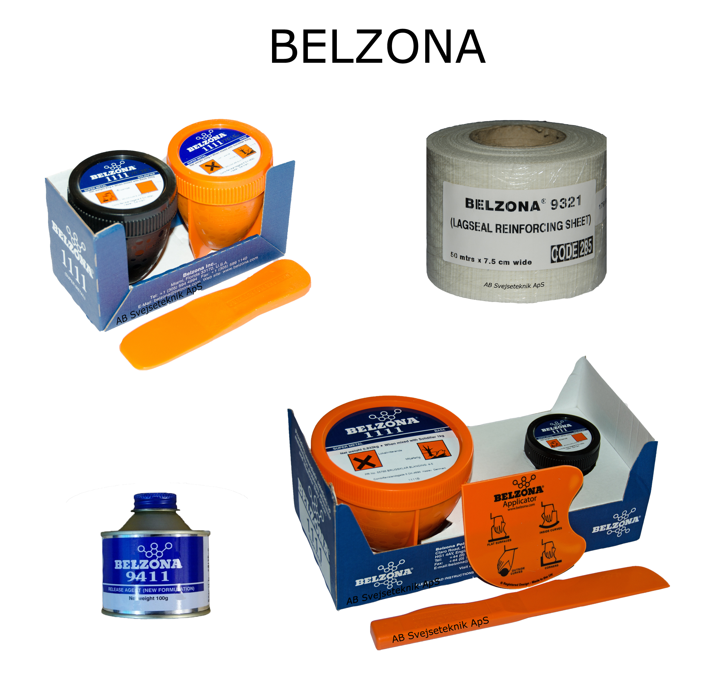 Belzona 2 Komponent stålmasse