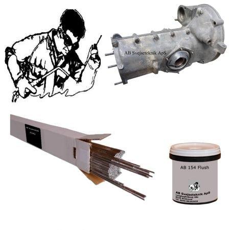AB 154 Magnesium TIG. Gas