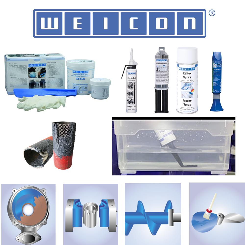 Weicon til produktion, reparation og vedligeholdelse