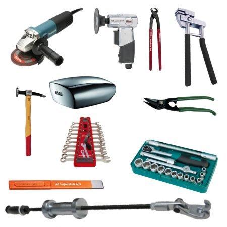 Værktøj til karrosseri