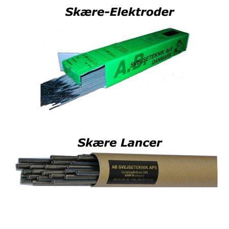 Lance og skære elektroder