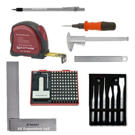 Mærke og måleværktøj