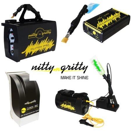 Nitty Gritty Bejdse og mærke maskiner.