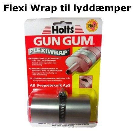 Flexiwrap lydamper