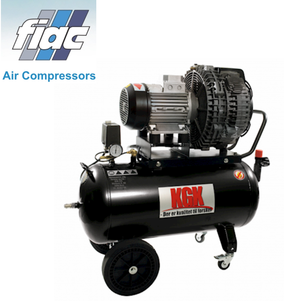 kgk 20 oliefri kompressor 10 bar 200 ltr min. Black Bedroom Furniture Sets. Home Design Ideas