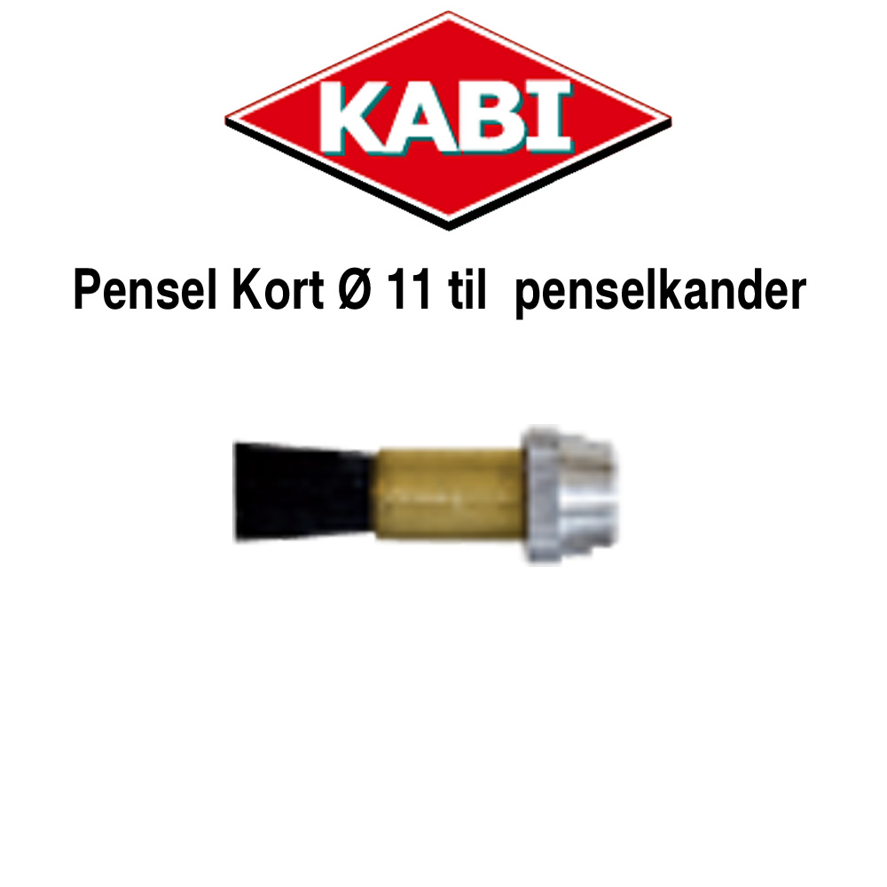 Kort Pensel ø11 mm