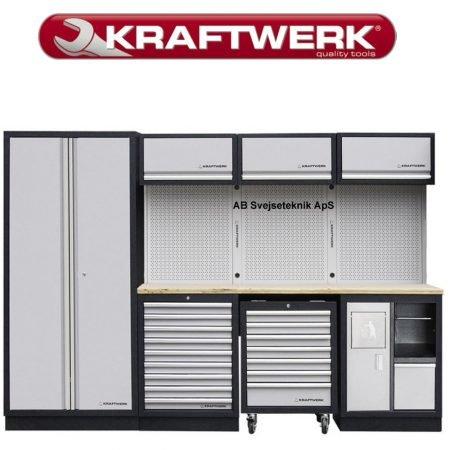 Kraftwerk Skabs set. 3964D