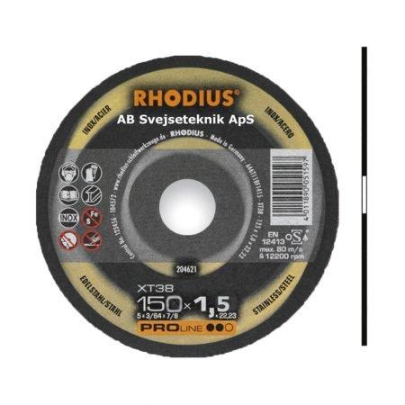 Rhodius Proline XT 38 150 x 1,5 mm