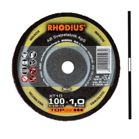 Rhodius Topline XT 10 100 x1,0 mm