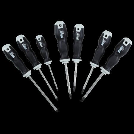 absvejs.dk - polar tools - Skruetrækker sæt 7stk SL, PH, PZ