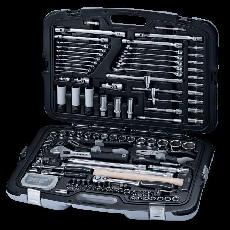 """absvejs.dk - polar tools - 1/4"""", 3/8"""" OG 1/2"""" Værktøjssæt I MM"""
