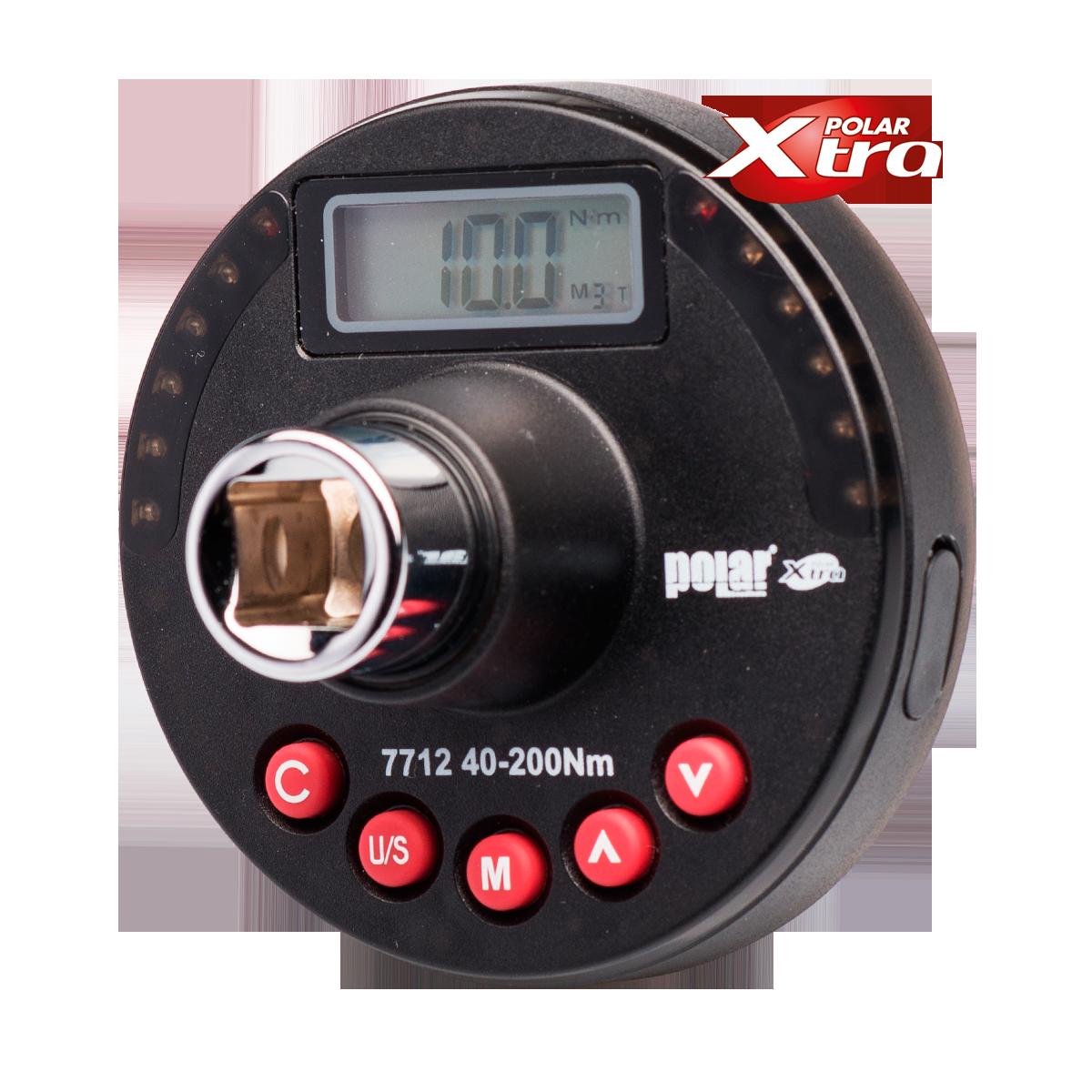 """absvejs.dk - polar tools- Grad- & Moment Adapter 1/2"""" 68-340 Nm"""
