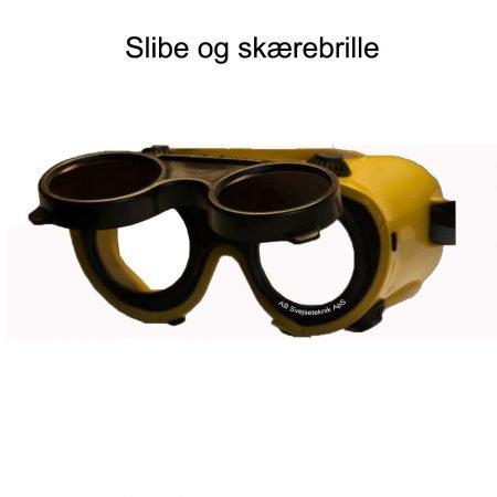 Slibe og skærebrille
