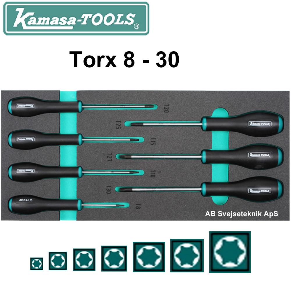 T8 - T30 skruetrækker.AB K 26041