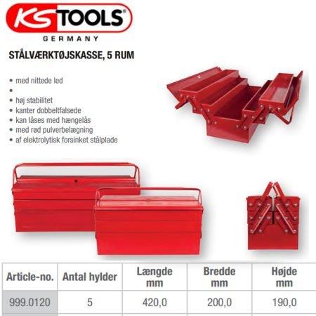Værktøjskasse 999.0120