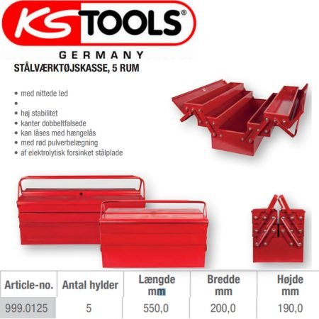 Værktøjskasse 999.0125